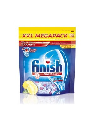 Finish Finish Powerball All In 1 Lemon - 100 Tabs