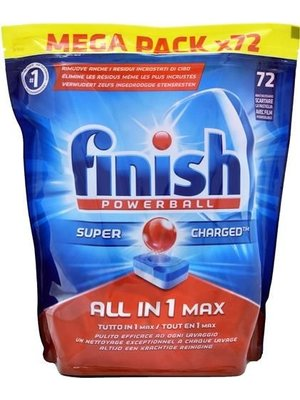 Finish Finish Powerball All In 1 Max  - 72 Tabs