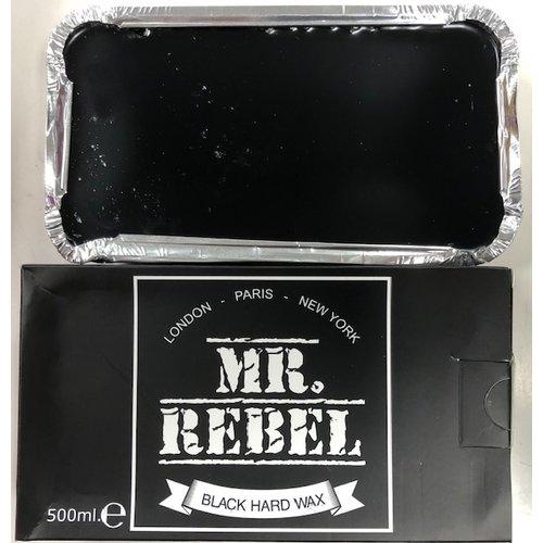 Mr. Rebel Mr Rebel harde ontharingswax black 500 g