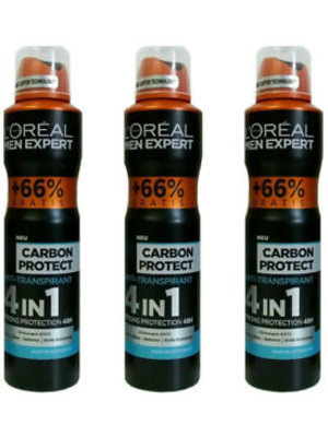 Men Men Expert Deospray carbon protect 4 in 1 - 150 Ml
