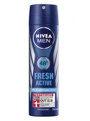 Nivea Nivea men deodorant fresh active 150 ml