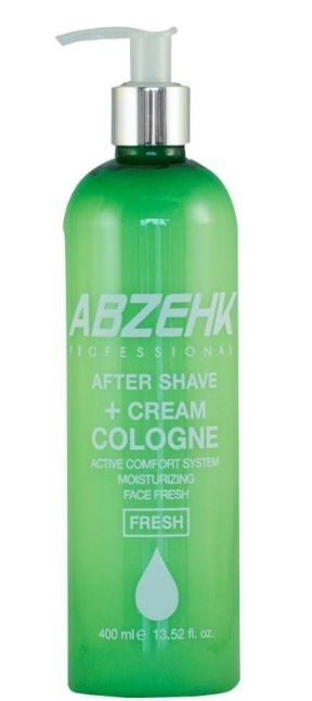 Image of Abzehk Abzehk After Shave + Cream Cologne Fresh 400 ml