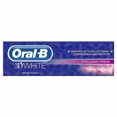 Oral B Oral B Tandpasta 3d White Vitalizing fresh - 75 Ml