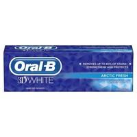 Oral B Tandpasta 3d White artic fresh 75 ml