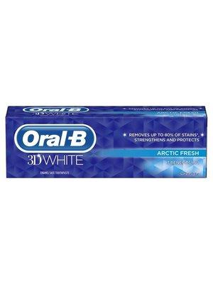 Oral Oral B Tandpasta 3d White artic fresh 75 ml
