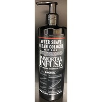 Immortal infuse aftershave cream cologne deep dark  400 ml