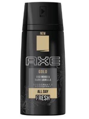 Axe Axe deo bodyspray gold  150 ml