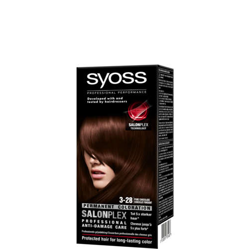 Syoss Syoss colors haarverf pure chocolade 3-28