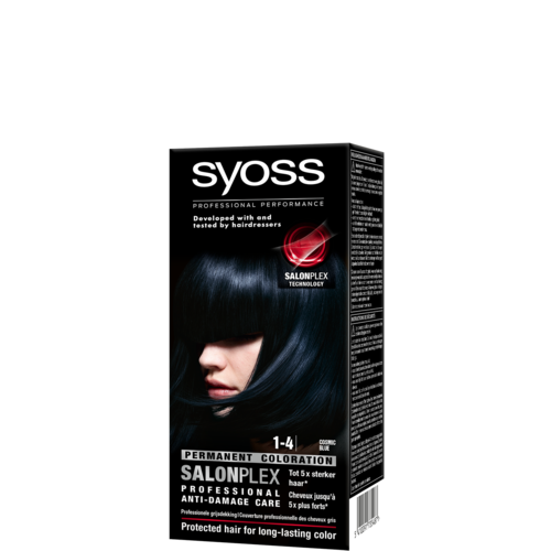 Syoss Syoss colors haarverf blue  1-4