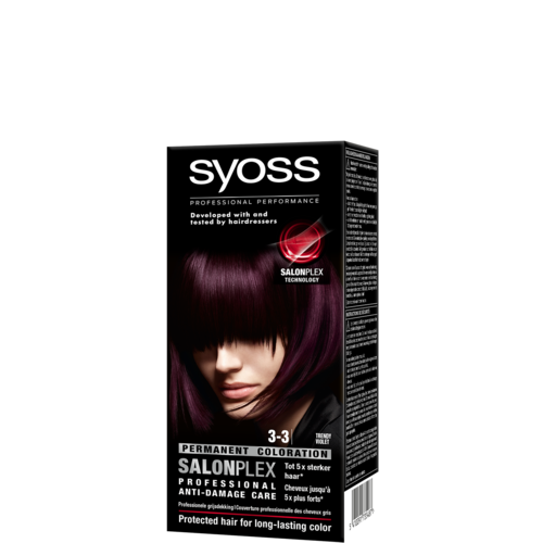 Syoss Syoss colors haarverf violet 3-3