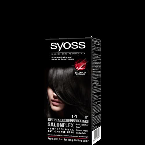 Syoss Syoss colors haarverf zwart 1-1