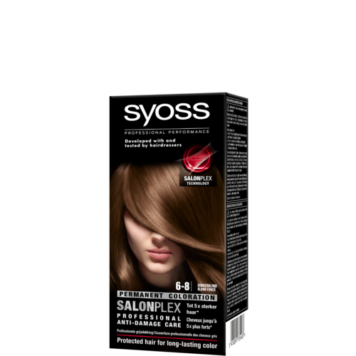 Syoss Syoss colors haarverf donkerblond 6-8