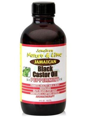 Jamaican Jamaican black castor oil pepermunt 118 ml