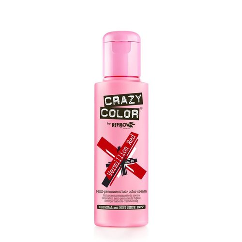 Crazy color Crazy color vermillion red no 40 100 ml