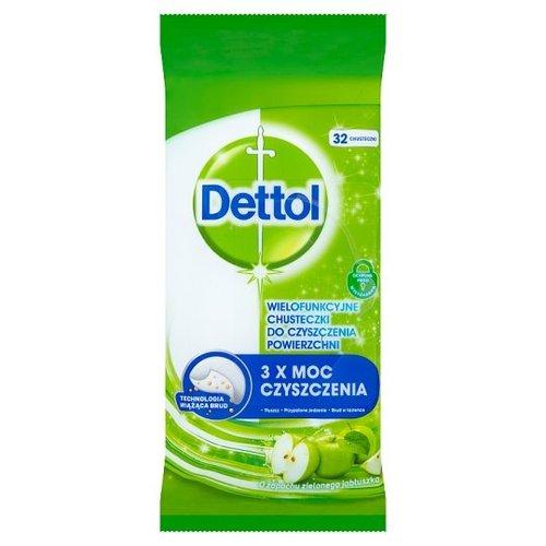 Dettol Dettol schoonmaak doekjes desinfecterend 32 doekjes