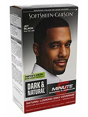 Dark & Lovely Dark & naturel haarverf man 5 min jet black