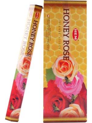 Wierook Wierook  honey rose 20 stokjes