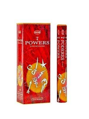 Wierook Wierook 7 powers 20 stokjes
