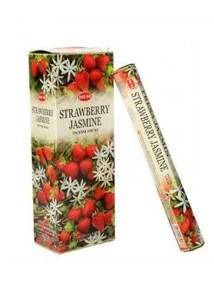 Wierook Wierook strawberry jasmine 20 stokjes