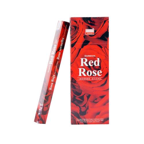 Wierook Wierook Red Rose 20 stokjes