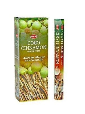 Wierook Wierook coco cinnamon 20 stokjes