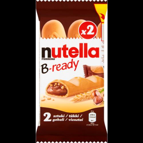 Nutella Nutella B-ready 2 stuks