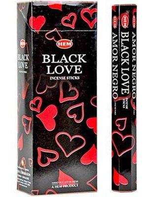 Wierook Wierook black love 20 stokjes