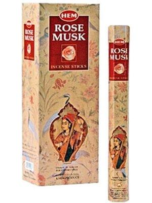 Wierook Wierook rose musk 20 stokjes