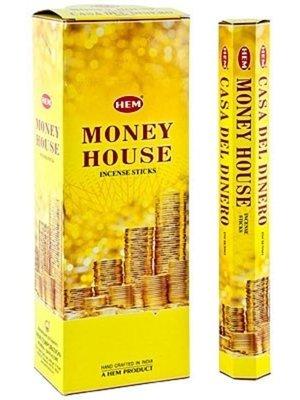 Wierook Wierook money house 20 stokjes