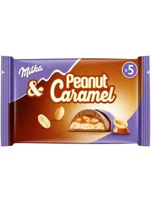 milka Milka peanut caramel 5x37 gram