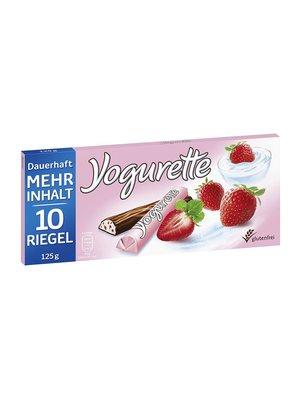 milka Yogurette aardbei 125 gram