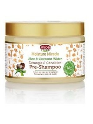 African Pride African Pride Moisture Miracle Aloe&Coconut Water Pre Shampoo  340 gram