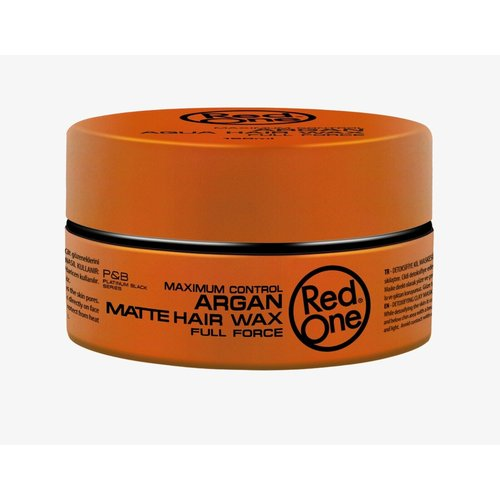 Red one Red One Maximum Control Argan Matte Hair Wax 150 ml