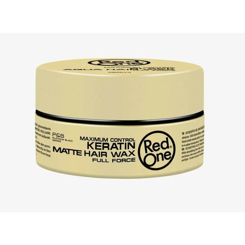 Red one Red One Maximum Control Keratin Matte Hair Wax 150 ml