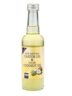 Yari Yari 100% Natural  Castor Oil & Virgin Coconut Oil 250 ml