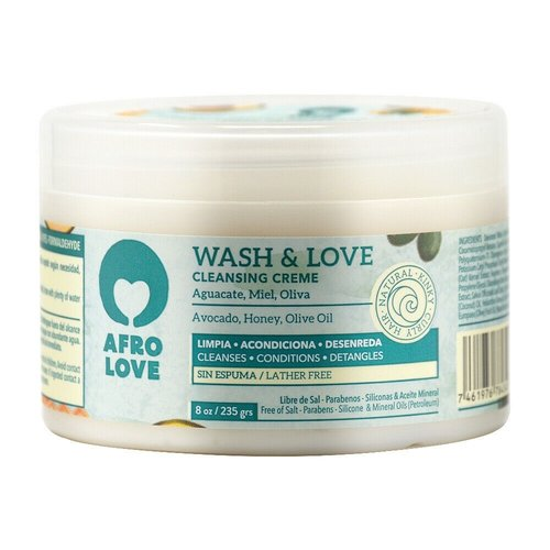 Afro love Afro love wash & love cleansing creme 235 gram