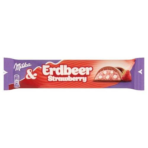 milka Milka Erdbeer Strawberry 37 gram