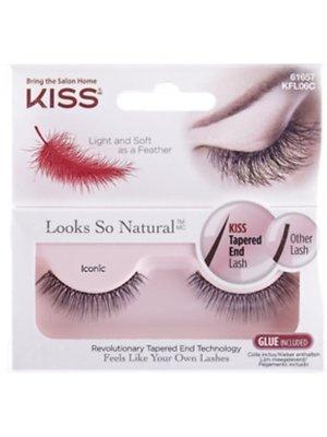 Kiss Kiss wimpers incl lijm natural