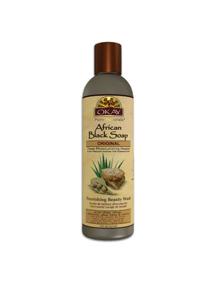 Okay Okay african black soap deep moisturizing healer 237 ml
