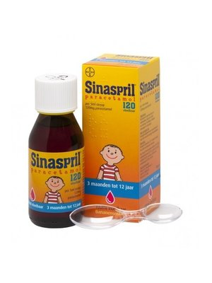 Sinaspril Sinaspril Paracetamol Vloeibaar 100 ml