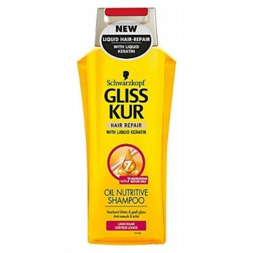 Gliss kur Gliss Kur Shampoo oil nutritive lang haar 250 ml