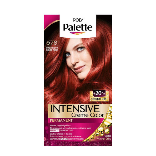 Poly Palette Poly Palette Intensive Creme 678 Robijn Rood - 1 Stuks