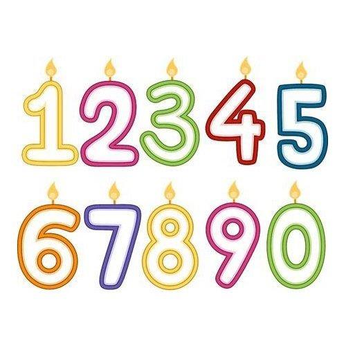 Lifetime Verjaardagskaars - Leeftijd 8