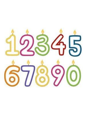 Lifetime Verjaardagskaars - Leeftijd 6