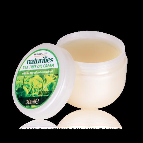Huncalife Naturilies tea tree oil cream 30 ml