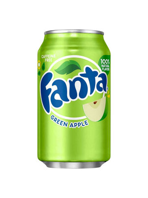 Fanta Fanta Frisdrank - Green Apple 330 ml