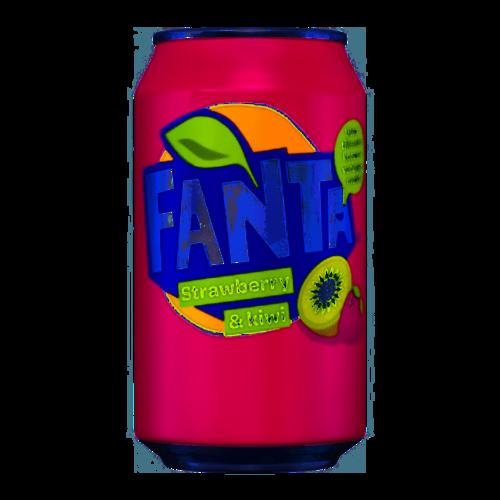 Fanta Fanta aardbei&kiwi 330 ml