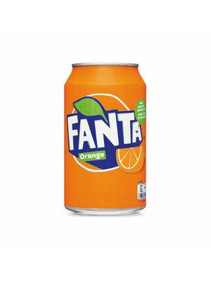Fanta Fanta Frisdrank - Orange 330 ml