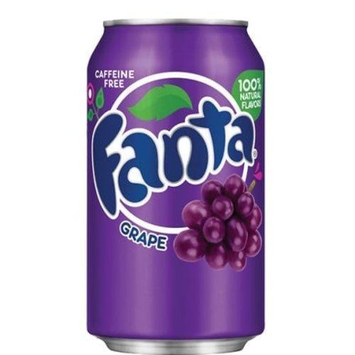 Fanta Fanta  Druiven 355 ml