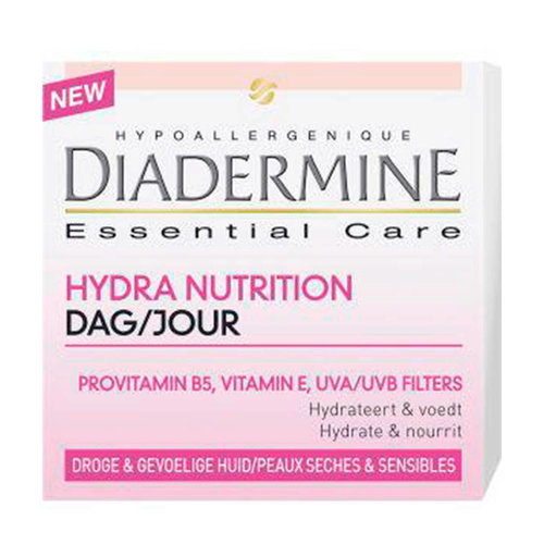 Diadermine Diadermine Hydraterende Dagcreme Droog/Gevoelige Huid - 50 Ml